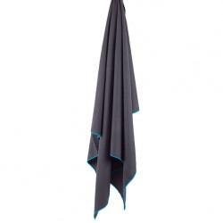 LIFEVENTURE SoftFibre Lite Trek Towel L grey törölköző