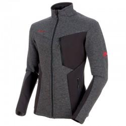 MAMMUT Stoney ML Wool Jacket phantom/titanium bunda