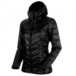 MAMMUT Rime IN Hooded Jacket Women black bunda