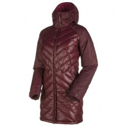 MAMMUT Whitehorn IN Hooded Parka Women merlot bunda