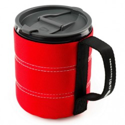 GSI OUTDOORS Infinity Backpacker Mug 500 ml red bögre
