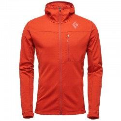 BLACK DIAMOND M CoEfficient Hoody rust bunda