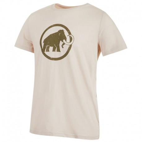 MAMMUT Logo T-Shirt Men linen póló