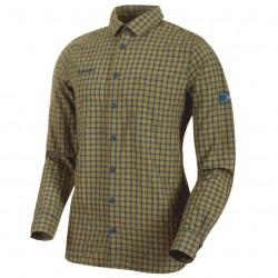 MAMMUT Lenni Longsleeve Shirt Men olive/poseidon ing