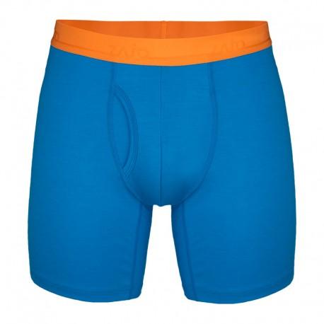 ZAJO Bjorn Merino Shorts greek blue boxeralsó