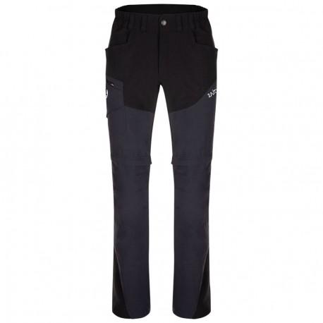 ZAJO Magnet Zip Off Pants black nadrág