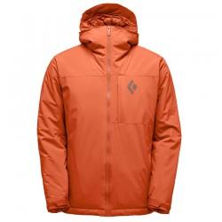 BLACK DIAMOND M Pursuit Ski Shell Hoody rust bunda