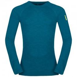 ZAJO Bergen Merino T-Shirt LS deep lagoon póló