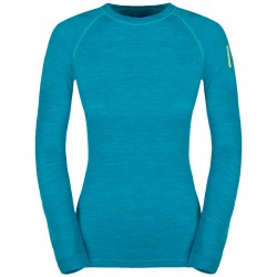 ZAJO Nora Merino W T-Shirt LS enamel blue póló