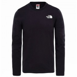 THE NORTH FACE M L/S Easy Tee black póló