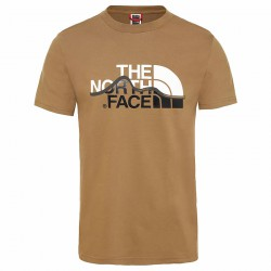 THE NORTH FACE M S/S Mountain Line Tee khaki póló