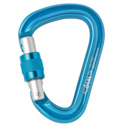 BEAL Be Safe Screw blue karabiner